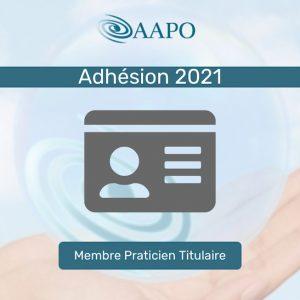 ADHÉSION 2021 – MEMBRE PRATICIEN CERTIFIÉ TITULAIRE